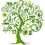 Eco Tree with environment symbols