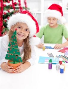 Home-made fun. Image from A Rocha UK advent calendar Credit Toria:Shutterstock